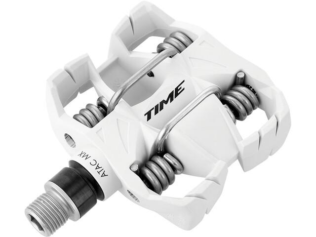 Time ATAC MX6 All Mountain Polkimet, white